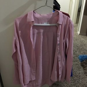J. Jill Medium Pink Women's Blouse